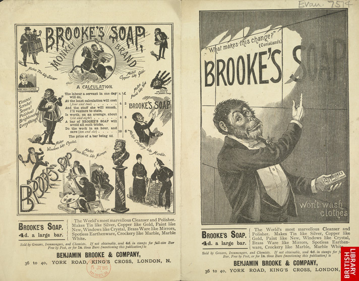 Advert For Brooke's Soap